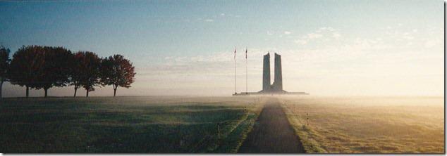 Vimy Ridge War Memorial