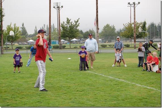 Reece First Baseball Game 001