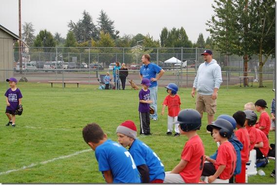 Reece First Baseball Game 005